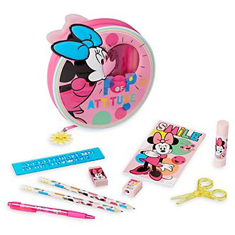 Kit de fournitures zippé Minnie Mouse