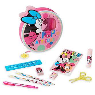 Set papelería con cremallera Minnie Disney Store