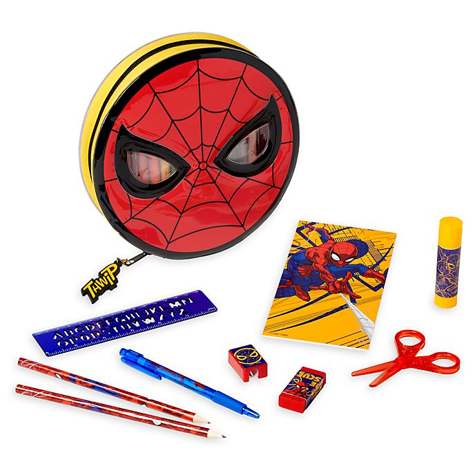 Disney Store Spider-Man Zip-Up Stationery Kit