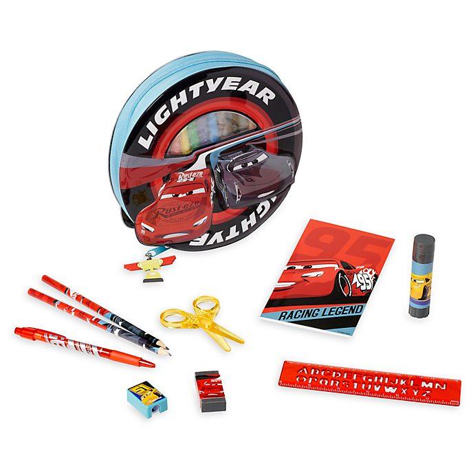 Disney Store Disney Pixar Cars 3 Zip-Up Stationery Kit