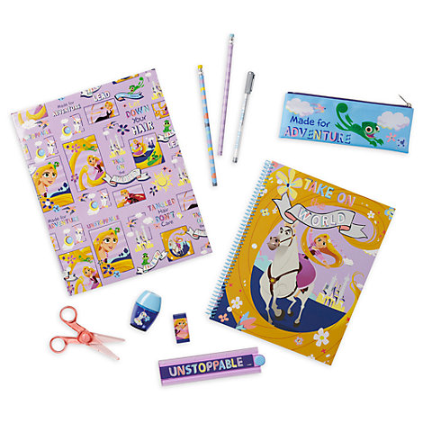Disney Store Tangled: The Series Stationery Supply Kit