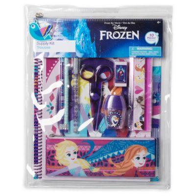 Juego papelería Frozen Disney Store