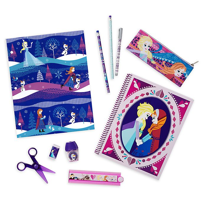 Disney Store Frozen Stationery Supply Kit