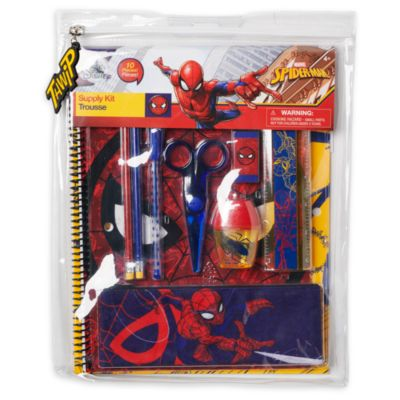 Disney Store Spider-Man Stationery Supply Kit