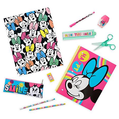 Juego papelería Minnie Disney Store