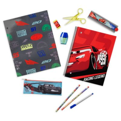 Disney Store Disney Pixar Cars Stationery Supply Kit