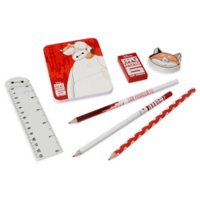 Disney Store Big Hero 6 Stationery Supply Kit