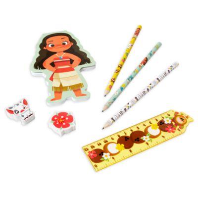Disney Store Moana Stationery Supply Kit