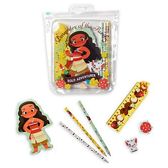 Disney Store Moana Stationery Supply Kit