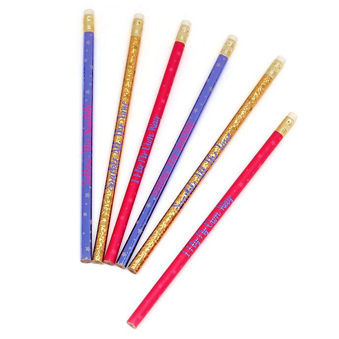 Disney Store Tinker Bell Pencils, Set of 6