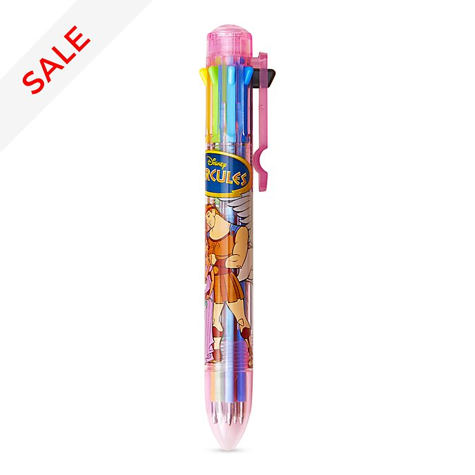 Disney Store Oh My Disney Hercules Multi-Coloured Pen