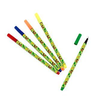 Disney Store Lot de stylos-feutres Pascal, Raiponce