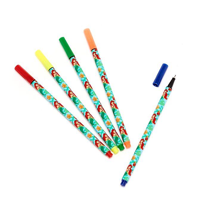 Disney Store The Little Mermaid Coloured Pens