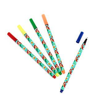 Bolígrafos colores La Sirenita, Disney Store