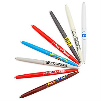 Disney Store Lot de 8 stylos Disney Pixar