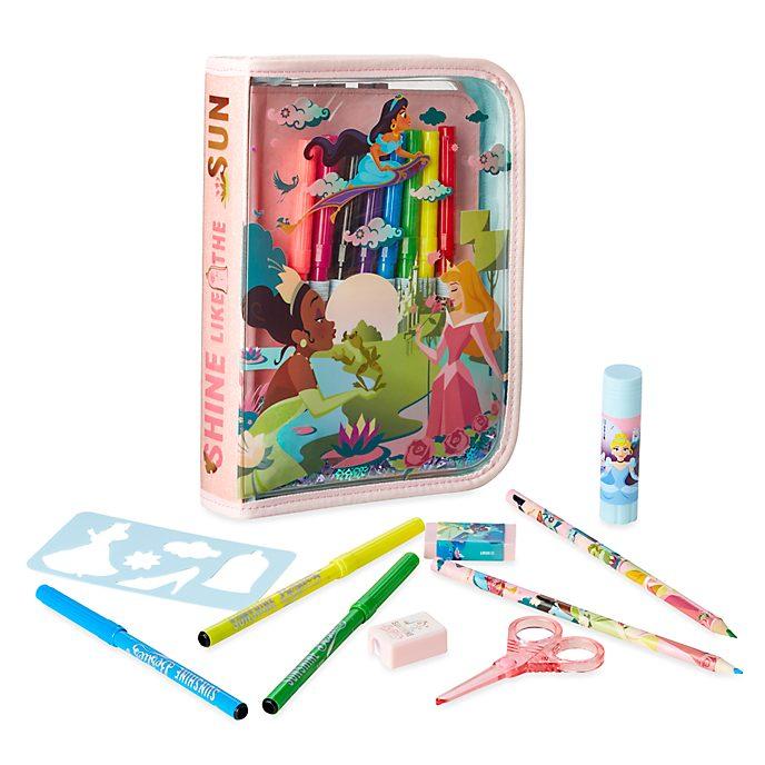 Disney Store Disney Princess Zip-Up Stationery Kit