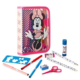 Disney Store Kit de fournitures Minnie Mouse zippé