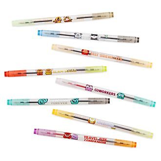 Set 8 penne a doppia punta Disney Store