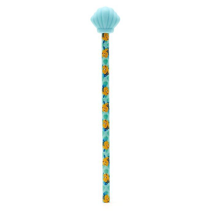 Disney Store Flounder Pencil With Topper, The Little Mermaid