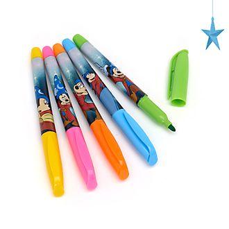 Disney Store Fantasia Washable Marker Pens, Set of 5