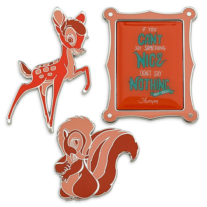 Disney Store Pin's Bambi, collection Disney Wisdom, 8 sur 12