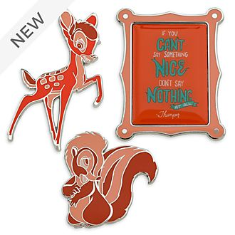 Disney Store Bambi Disney Wisdom Pin Set, 8 of 12