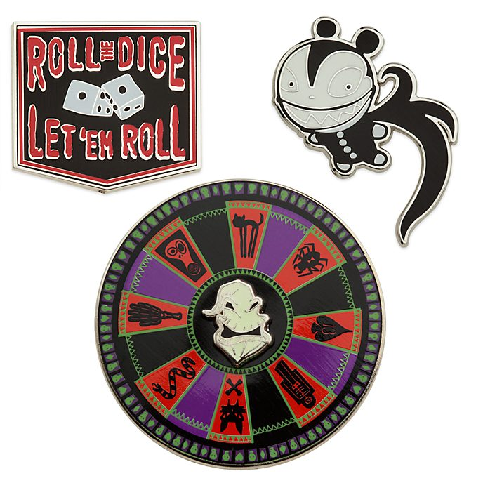 Disney Store The Nightmare Before Christmas Pin Set