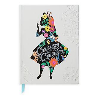 Diario Alice nel Paese delle Meraviglie Disney Store