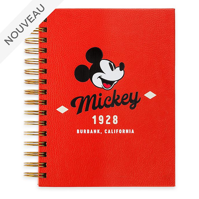 Disney Store Lot Calepin et feuilles adhésives Mickey