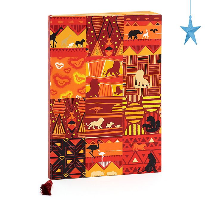 Disney Store Journal A4 Le Roi Lion