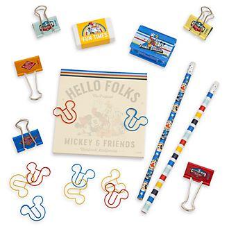 Disney Store Ensemble de papeterie Mickey et ses amis