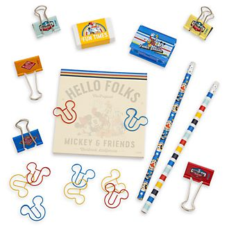 Disney Store Mickey and Friends Stationery Set