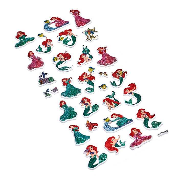 Disney Store The Little Mermaid Stickers
