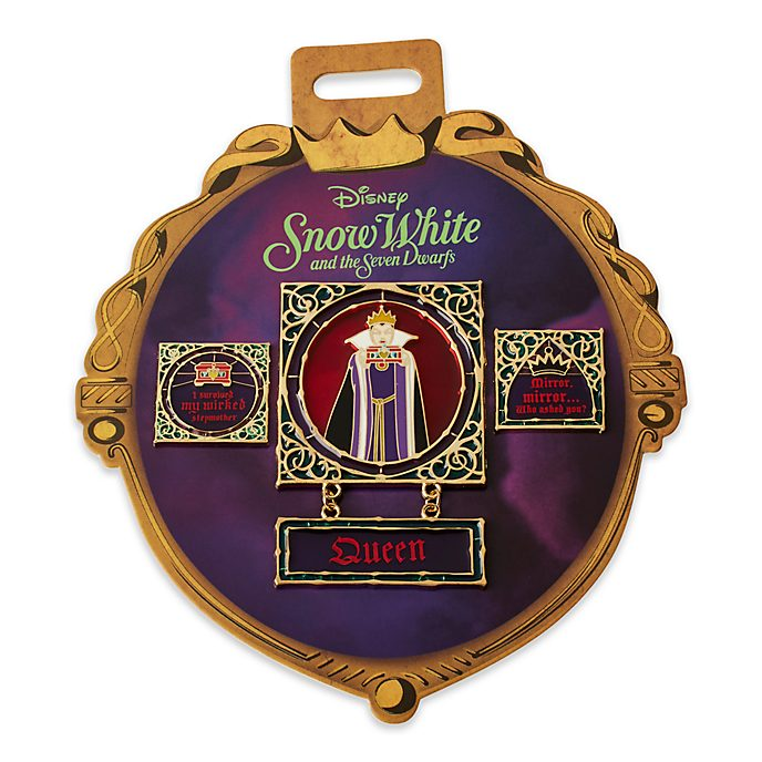 Disney Store Evil Queen Pin Set