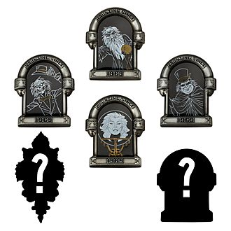 Pin misteriosa Haunted Mansion Disney Store