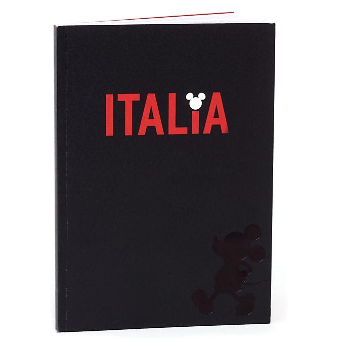 Cuaderno A5 Italia Mickey Mouse, Disney Store