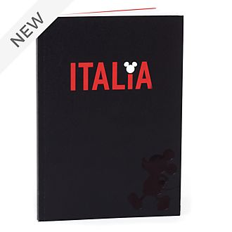 Disney Store Mickey Mouse Italia A5 Notebook