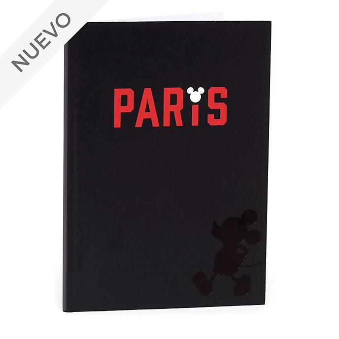 Cuaderno A5 Paris Mickey Mouse, Disney Store