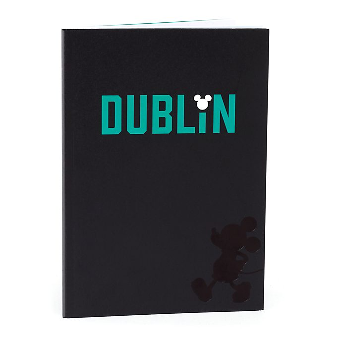 Disney Store Mickey Mouse Dublin A5 Notebook