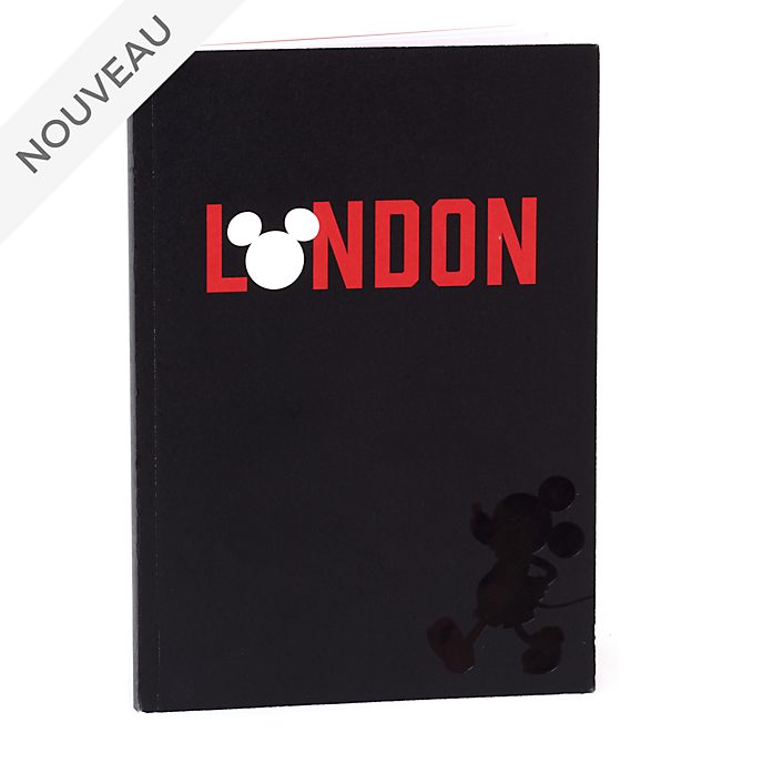 Disney Store Cahier A5 Mickey Londres