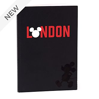 Disney Store Mickey Mouse London A5 Notebook