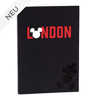 Disney Store - Micky Maus - London - A5-Notizbuch