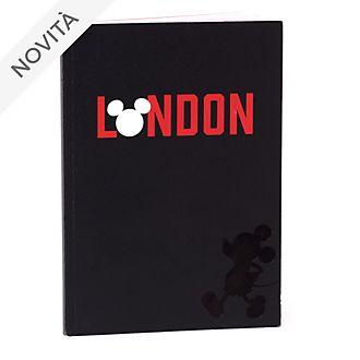 Quaderno A5 Topolino Londra Disney Store