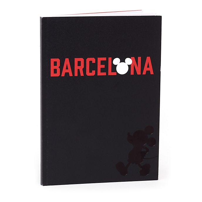 Disney Store Cahier A5 Mickey Barcelone