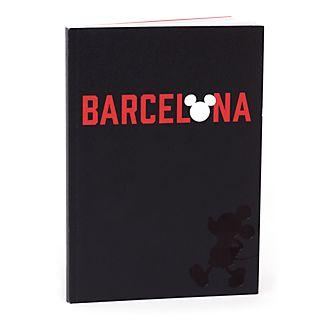 Cuaderno A5 Barcelona Mickey Mouse, Disney Store