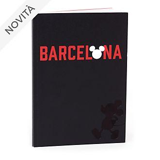 Quaderno A5 Topolino Barcellona Disney Store