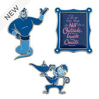 Disney Store Aladdin Disney Wisdom Pin Set, 10 of 12