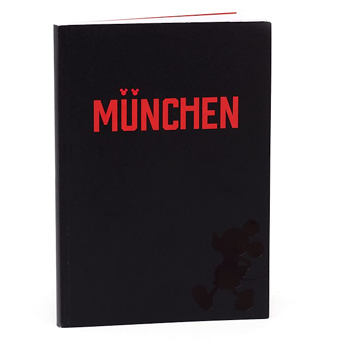 Disney Store Mickey Mouse München A5 Notebook