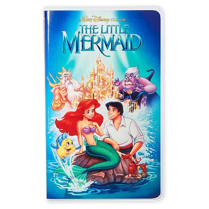 Disney Store - Arielle, die Meerjungfrau - VHS-Notizbuch