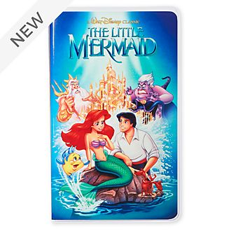 Disney Store The Little Mermaid VHS Journal